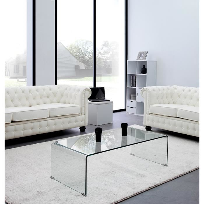 table basse verre tremp. Black Bedroom Furniture Sets. Home Design Ideas