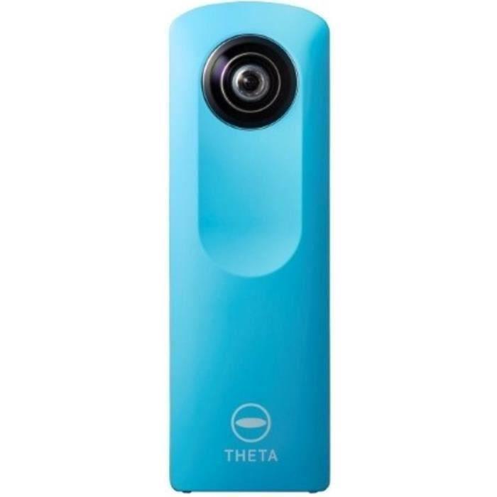 CAMÉSCOPE NUMÉRIQUE RICOH THETA m15 Caméra 360° - Wi-Fi - Bleu