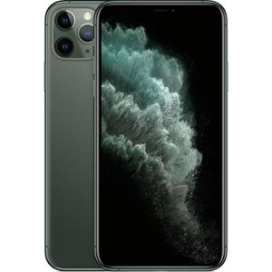 SMARTPHONE APPLE iPhone 11 Pro Max Vert nuit 64 Go