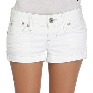 GUESS Short Femme Blanc. - Achat / Vente