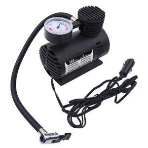 COMPRESSEUR AUTO Mini Compresseur d'air Pompe gonfleur de Pneu Auto