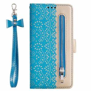 HOUSSE - ÉTUI etui pour Huawei P20 Lite. bleu Superbe bracelet e