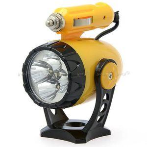LAMPE DE POCHE Lampe Torche 5 LED de Voiture avec Prise 12V Allum