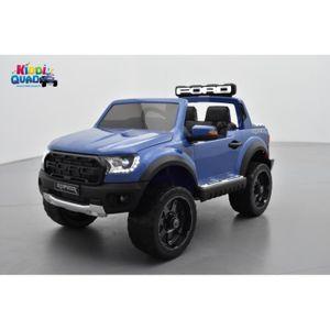 VOITURE ELECTRIQUE ENFANT Ford Ranger Raptor Bleu Métallisée, voiture électr