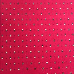 TISSU Tissu au mètre coton provençale rouge all over
