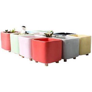 35 cm Fiori Algarve Rouge intense JARDINIERE//contemporain pot//jardin et maison * vente