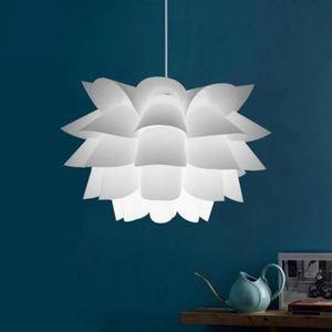 LUSTRE ET SUSPENSION Moderne  Assemblée Lotus Lustre plafond pendentif