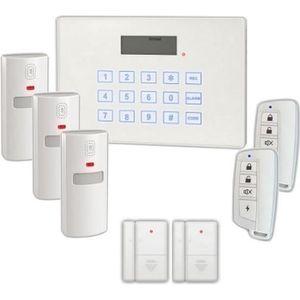 KIT ALARME VOLTMAN Pack Alarme maison sans fil transmetteur t