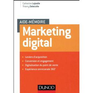 MANUEL UNIVERISTAIRE Livre - aide-mémoire ; marketing digital