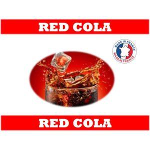 LIQUIDE e-liquide français 10 ml saveur red cola 6mg