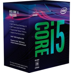 PROCESSEUR INTEL Processeur Core i5 8600 - Socket 1151 - 6 cœ