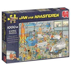 PUZZLE Puzzle 1000 pièces Jan Van Haasteren - Faits Saill
