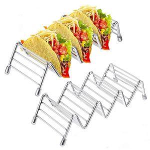 PORTE SERVIETTES  MARGUERAS 2PCS Porte-Toast Support De Pain Tacos G