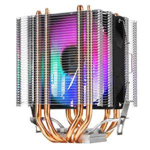VENTILATION  NEUFU Ventilateur processeur RGB Refroidisseur 4 C