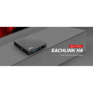 BOX MULTIMEDIA Smart TV Box-EACHLINK H6 MINI TV Box- Box Multiméd