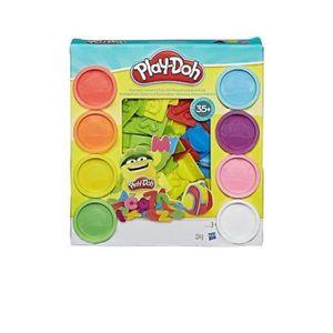 JEU DE PÂTE À MODELER Play-doh Chiffres et Lettres 35 accessoires et 8 p
