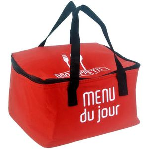 LUNCH BOX - BENTO  Lunch Bag Sac Panier Repas Fraicheur Isotherme Men