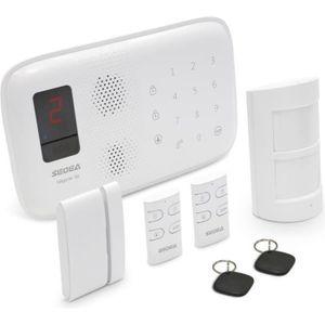 KIT ALARME SEDEA Pack Alarme maison sans fil Elegante 50