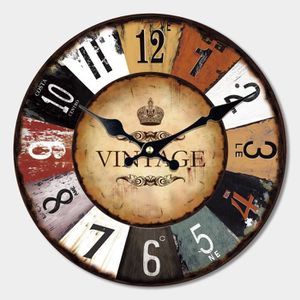 grande horloge murale vintage achat vente grande. Black Bedroom Furniture Sets. Home Design Ideas