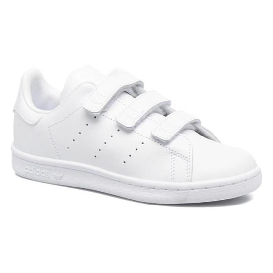 Adidas stan smith à scratch taille 39 1/3 blanc BLANC ...