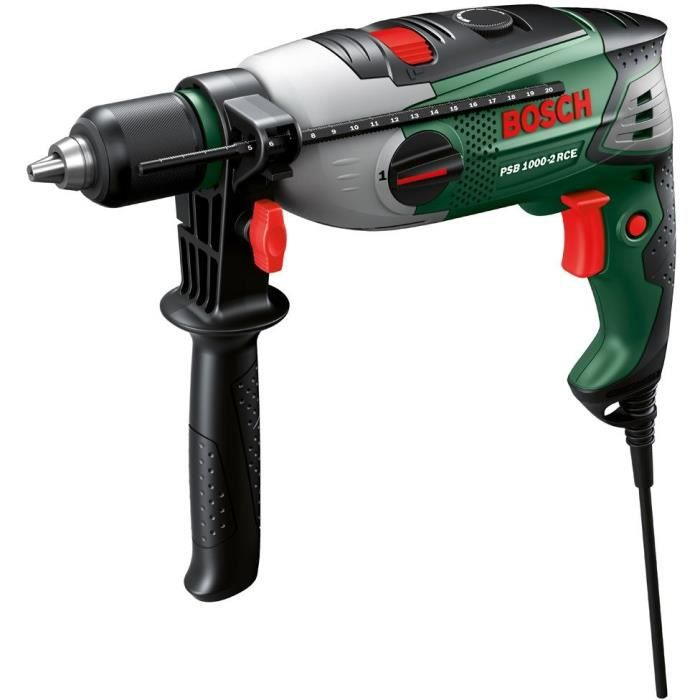 PERCEUSE BOSCH Perceuse à percussion PSB 1000-2 RCE 1000W