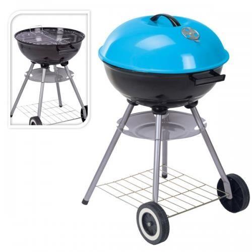 Barbecue Boule Coloré ø 46 cm Bleu