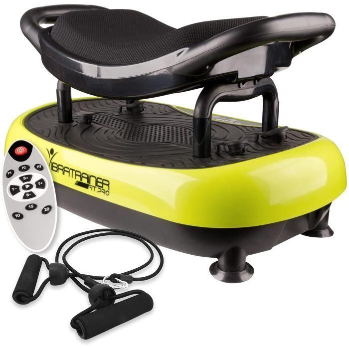 Vibratrainer– Plateforme Vibrante avec Si&egravege. Travaillez &agrave 1 100 tours par minute ce qui repr&eacutesente 1 100 c3