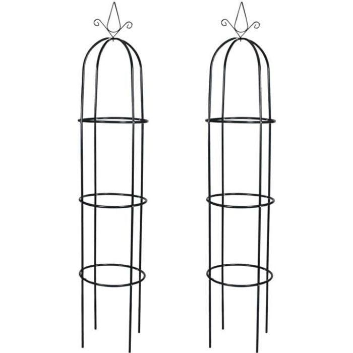 Neuf}1249Luxueux Magnifique Arches de jardin pour Plantes Grimpantes et Rosiers Décor - Arceau de jardin Pergola à appentis -en form