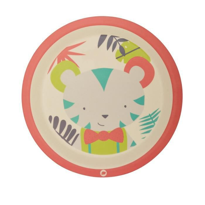 BEBE CONFORT Assiette en Bambou - Jungle Vibes