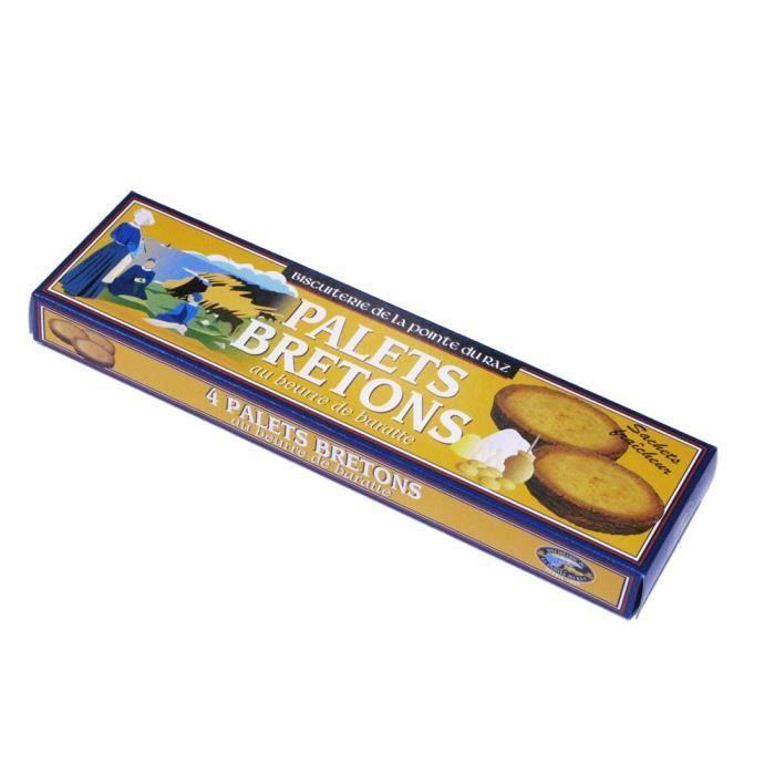 Palets bretons au beurre de baratte Pointe du Raz 80 gr