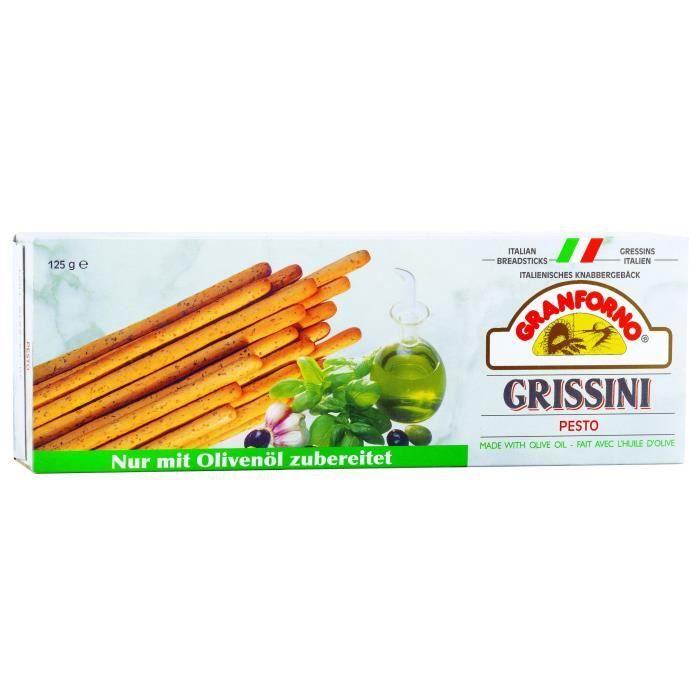 GRANFORNO Grissini Basilic - 125 g