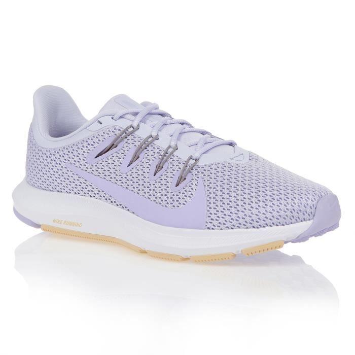 NIKE Chaussures de running Wmns Nike Quest 2 Se Femme Gris/Violet