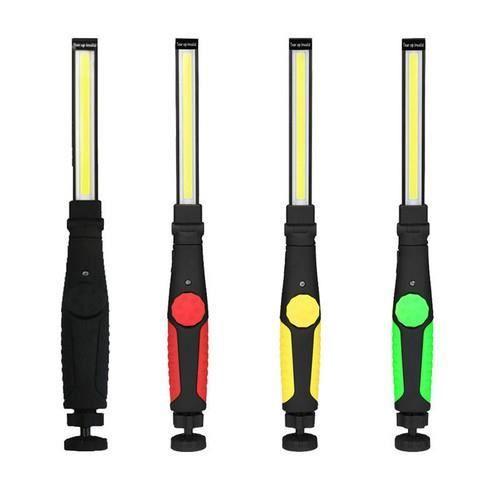 Lampe torche de main de lampe d'inspection d'atelier de mécanicien de lumière de travail de l'ÉPI LED rechargeable-noir