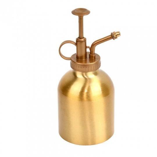 Vaporisateur teinte dorée