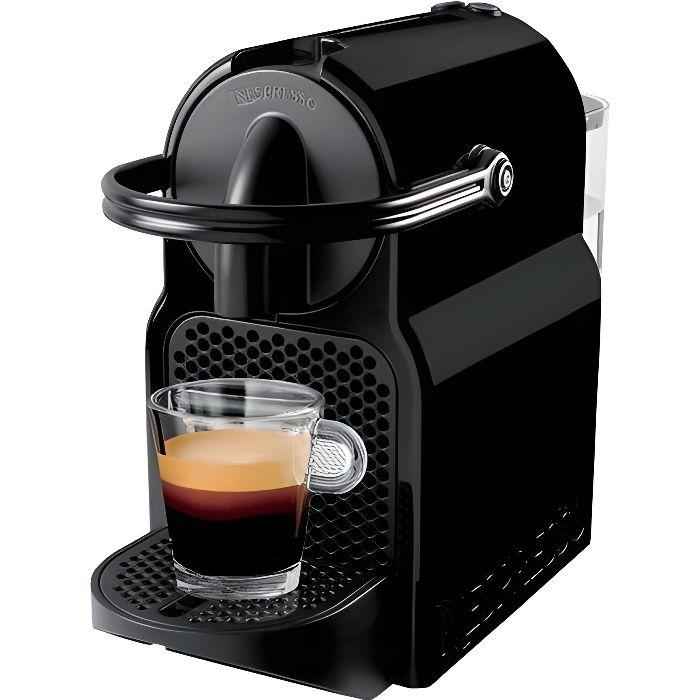 Machine à Café Nespresso Inissia Noir + 14 capsules Nespresso offertes