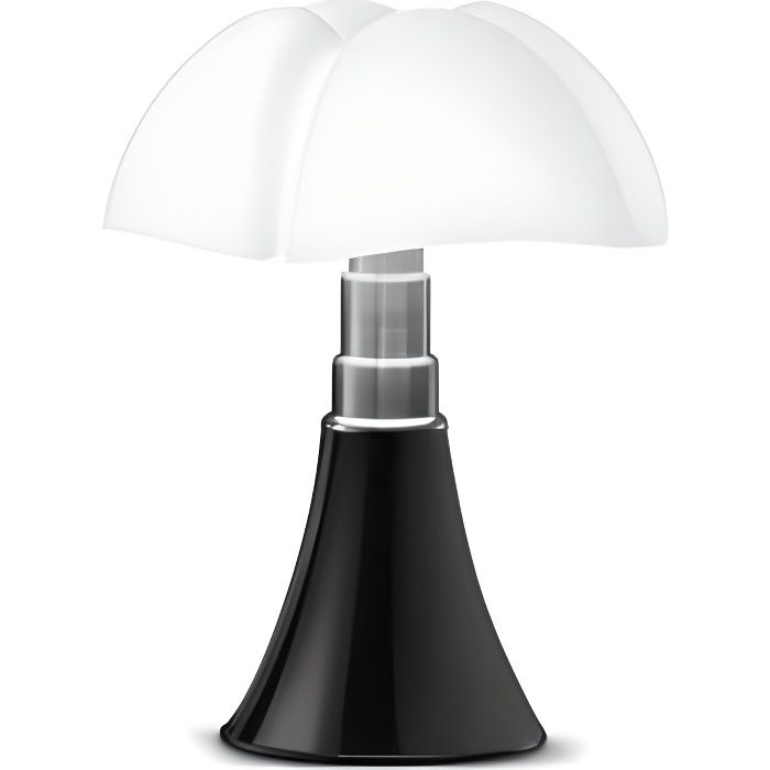 MINI PIPISTRELLO Lampe LED - Noir - H35 cm