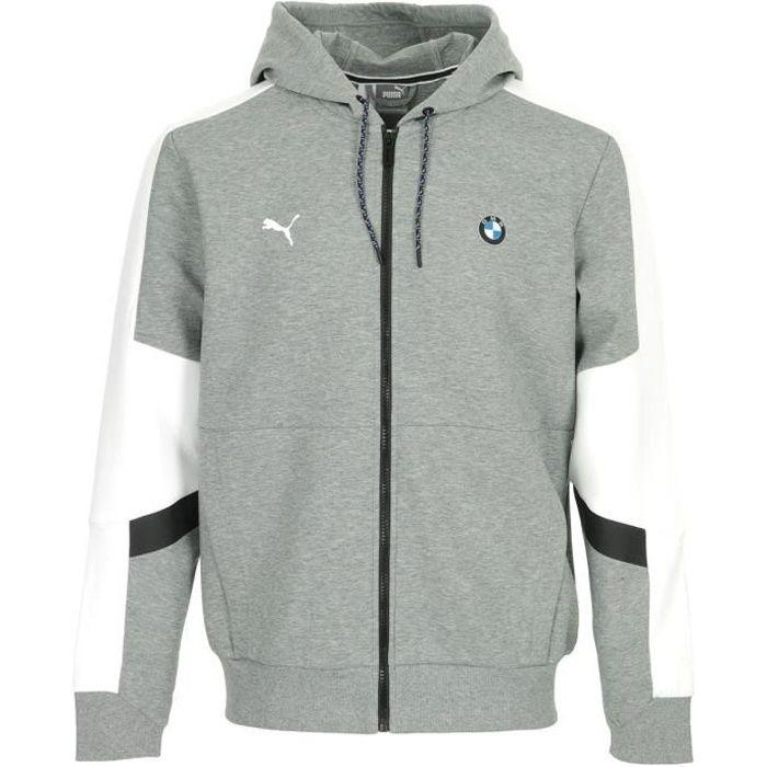 Puma - BMW MMS Hooded Sweat Jacket - Veste