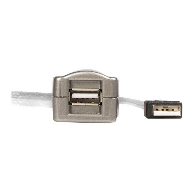 Startech Câble D'extension Usb 2.0 Actif Usb (M) pour Usb (F) 4,80 m
