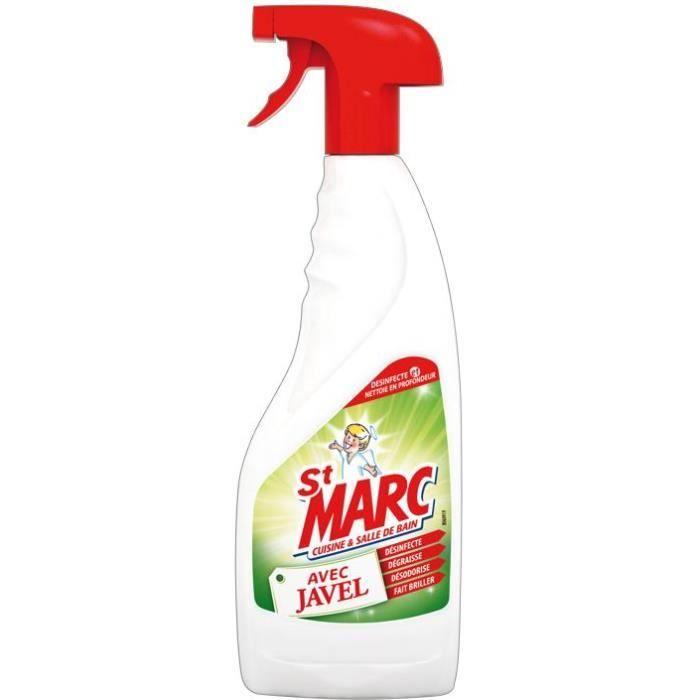 Nettoyant avec javel cuisine salle de bains - 500 ml