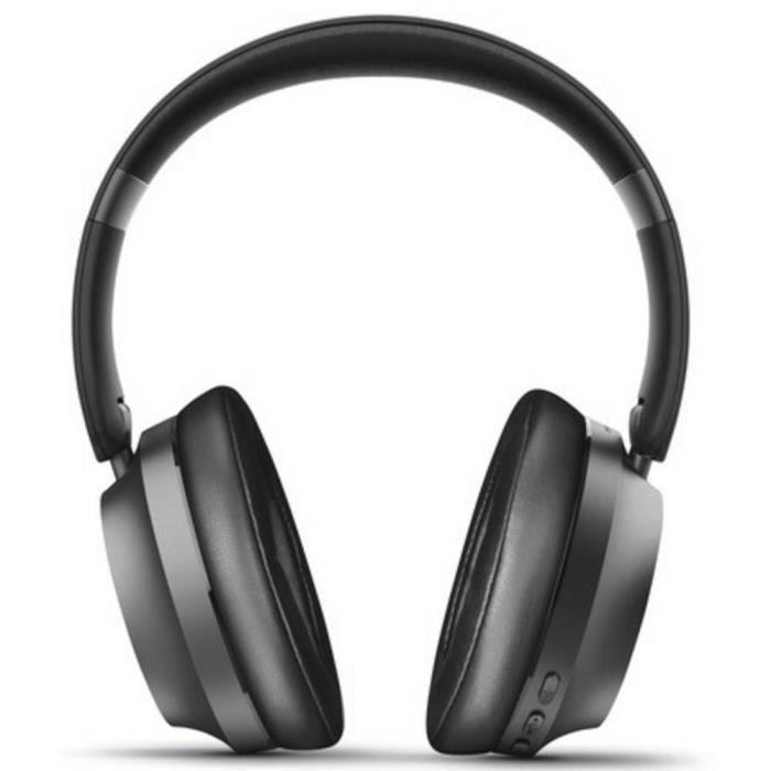 Casque supra-auriculaire Trust Eaze 23550 Bluetooth, filaire noir 1 pc(s)