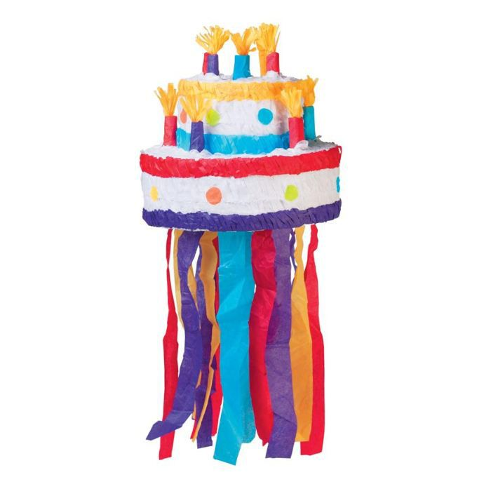pinata gateau anniversaire achat vente confettis serpentin carton cdiscount. Black Bedroom Furniture Sets. Home Design Ideas