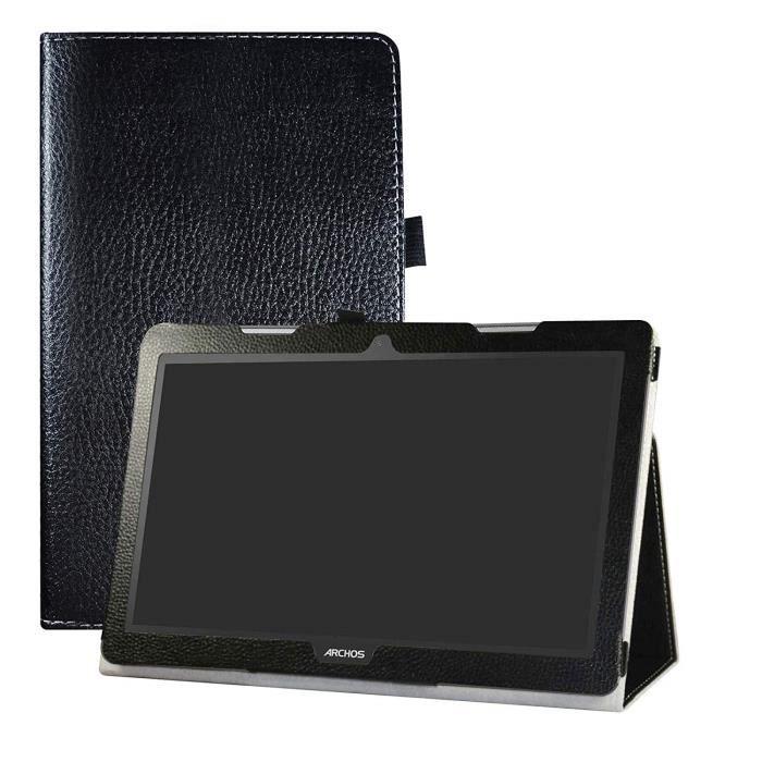 Archos 133 Oxygen Coque,Mama Mouth Slim Folio PU Cuir debout Fonction Housse Coque /Étui Couverture pour 13.3 Archos 133 Oxygen Andorid 6.0 Tablet PC,Rouge