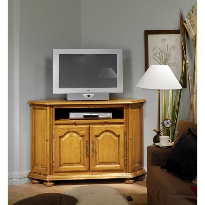 meuble tele d 39 angle manon achat vente meuble tv meuble. Black Bedroom Furniture Sets. Home Design Ideas