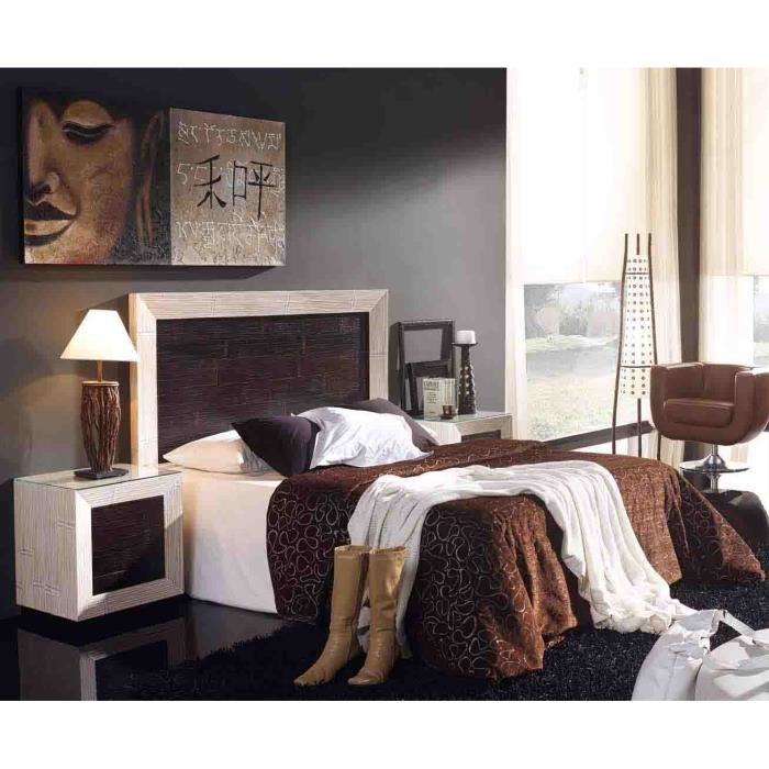 t te de lit en bambou mod le soho achat vente t te. Black Bedroom Furniture Sets. Home Design Ideas