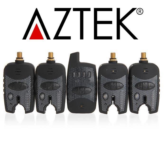 OUTILLAGE PÊCHE AZTEK® Kit Alarme 4 Détecteur Sondeur de Pêche San