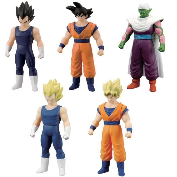 Pack Dragon Ball Z 4 Figurines  Galaxy Figurines