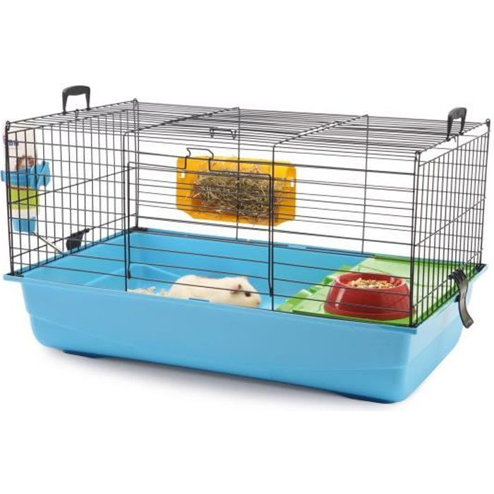 biozoo cage nero2 80 x 50 x 44 cm pour lapin achat. Black Bedroom Furniture Sets. Home Design Ideas