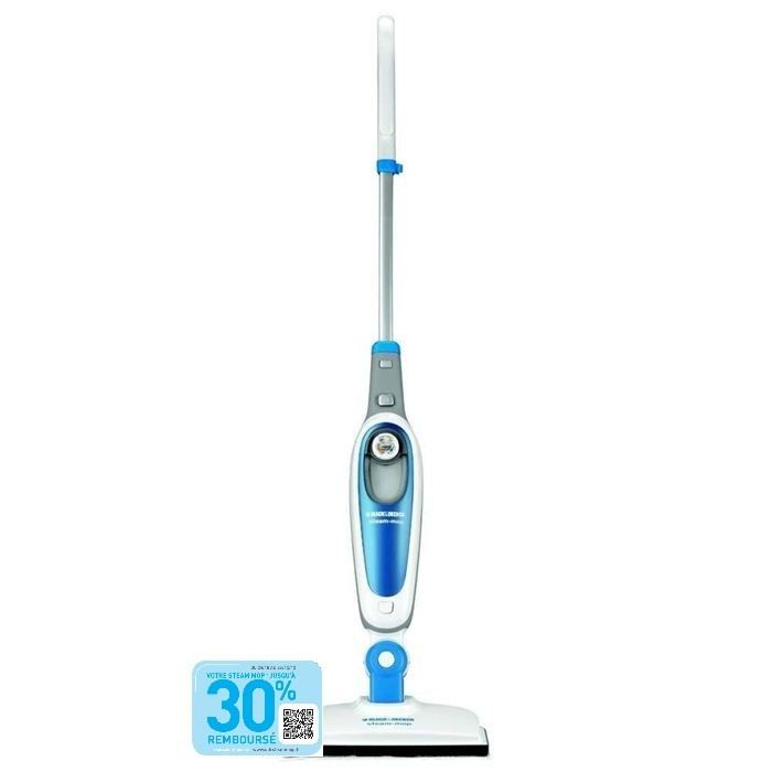black decker fsm1500 steam mop achat vente. Black Bedroom Furniture Sets. Home Design Ideas