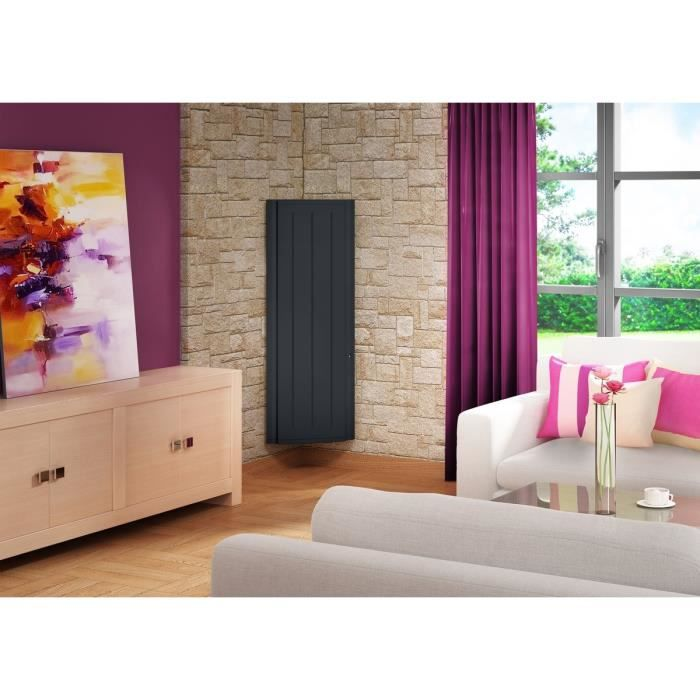 sauter radiateur lectrique bol ro vertical 1500w. Black Bedroom Furniture Sets. Home Design Ideas