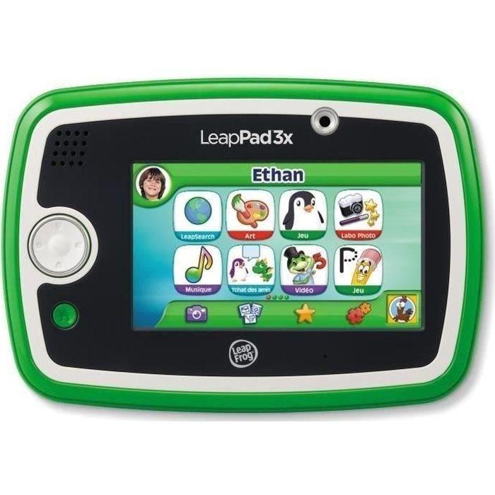 JEU CONSOLE ÉDUCATIVE LEAPFROG Tablette Tactile LeapPad 3x Verte
